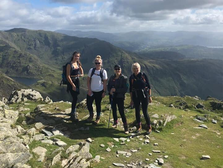 The Climb of the Old Man of Coniston