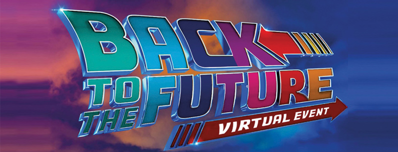 'Back to the Future' Virtual Family Fundraising evening   	  including a performance from Wet Wet Wet's lead singer Kevin Simm