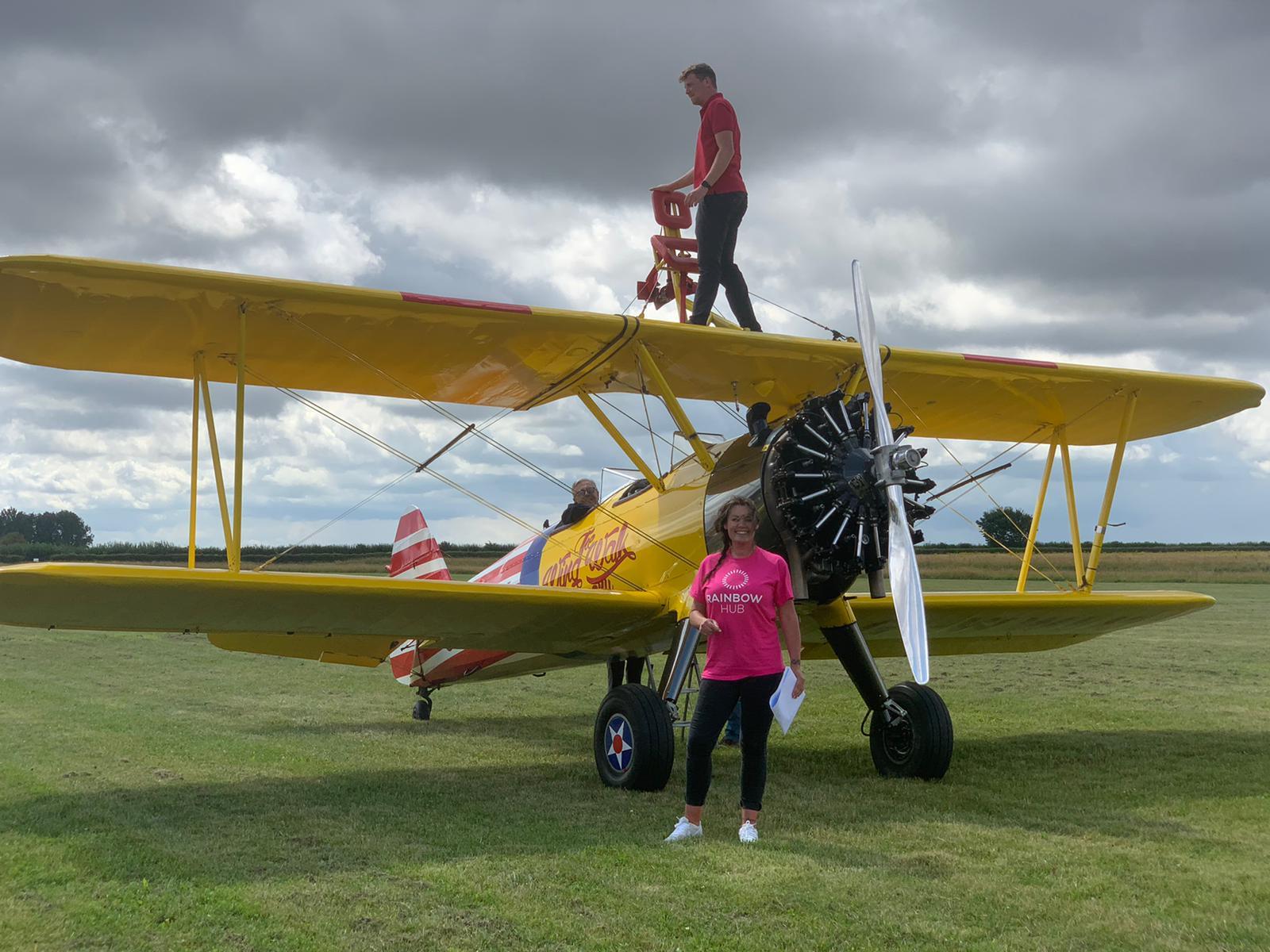 Epic Wing Walk raises over £1,500